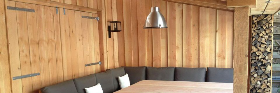 Veranda's en buitenverblijven, vlonders, hottubs en lounge sets
