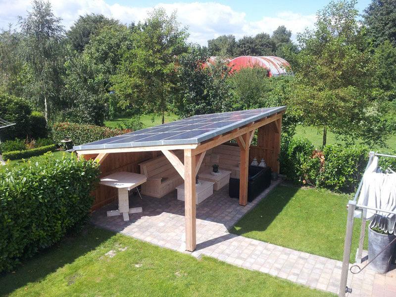 Uitzonderlijk Zonnepanelen op veranda - Fpepping.nl &KC84