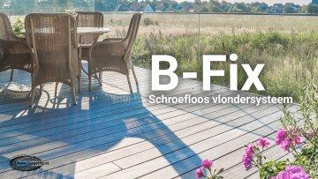 B-Fix: Schroefloos Vlondersysteem